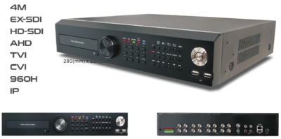 4M 8CH ALL-IN-1 EX-SDI/HD-SDI/AHD/TVI/CVI/960H/IP  DVR(716)