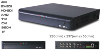 4M 16CH ALL-IN-1 EX-SDI/HD-SDI/AHD/TVI/CVI/960H/IP  DVR(708)