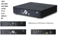 4M 8CH ALL-IN-1 EX-SDI/HD-SDI/AHD/TVI/CVI/960H/IP  DVR(704)